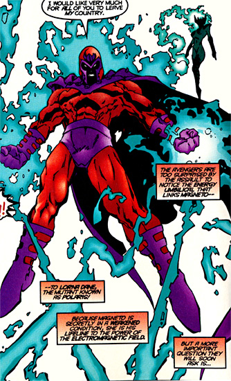 Polaris powers and heritage uncannyxmen several years after the death of zaladane and the return of her powers polaris came under the tutelage of magneto magneto dark seduction 1 4 during publicscrutiny Choice Image