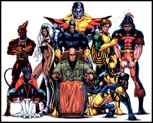 for the all-new X-Men  X Men Characters