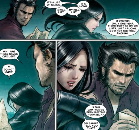 X-23: Page 7 of 10 | uncannyxmen.net X 23 Gambit
