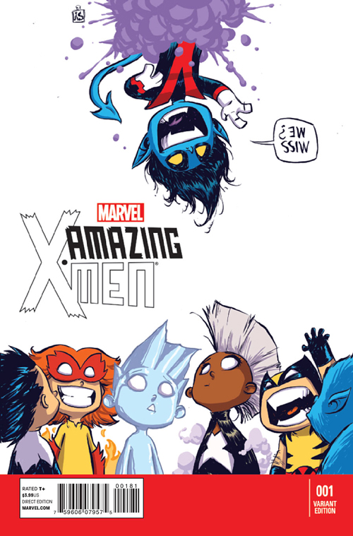 Amazing X Men 2nd Series 1 Young Variant
