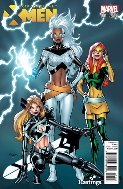 EXTRAORDINARY X-MEN #1 Phantom variant Sketch 001 Storm