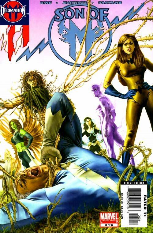 Son of M #3 April 2006 Marvel Comics Hine Martinez Pantazis