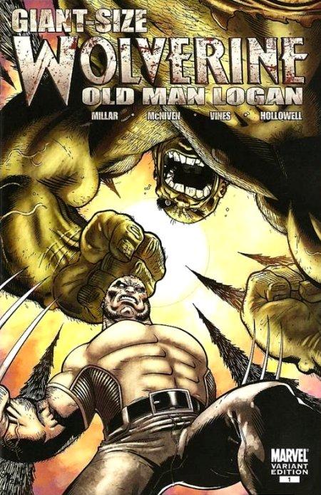 X Men 2000 Mystique Wolverine: Old Man Log...