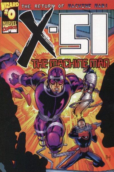 X 51 The Machine Man Wizard Special 0 Uncannyxmen Net