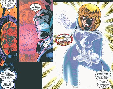 Image result for Cable and Invisible Woman vs. Apocalypse
