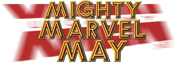 Logo: Mighty Marvel May