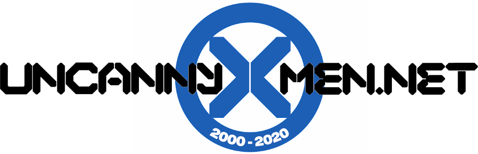 Logo: UncannyX-Men.Net - for the fans, by the fans, for 20 years!