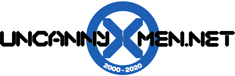 Logo: UncannyX-Men.Net - for the fans, by the fans, for 20years