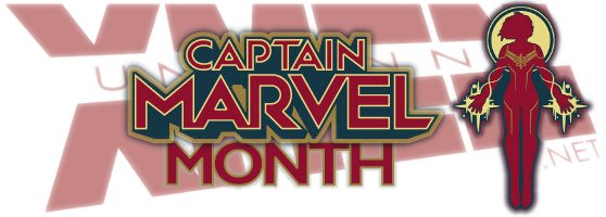 Logo: uncannyxmen.net Captain Marvel Month