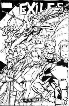 Exiles Cover Preview Art