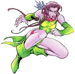 However  the Blink from the X Men Age Of Apocalypse Blink