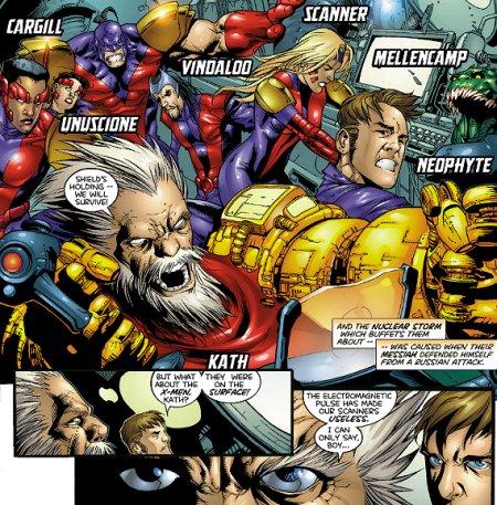 Fabian Cortez - Marvel Comics - X-Men foe - Acolytes Magneto ...